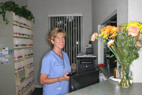 Mary-Ellen Greets Our Patients